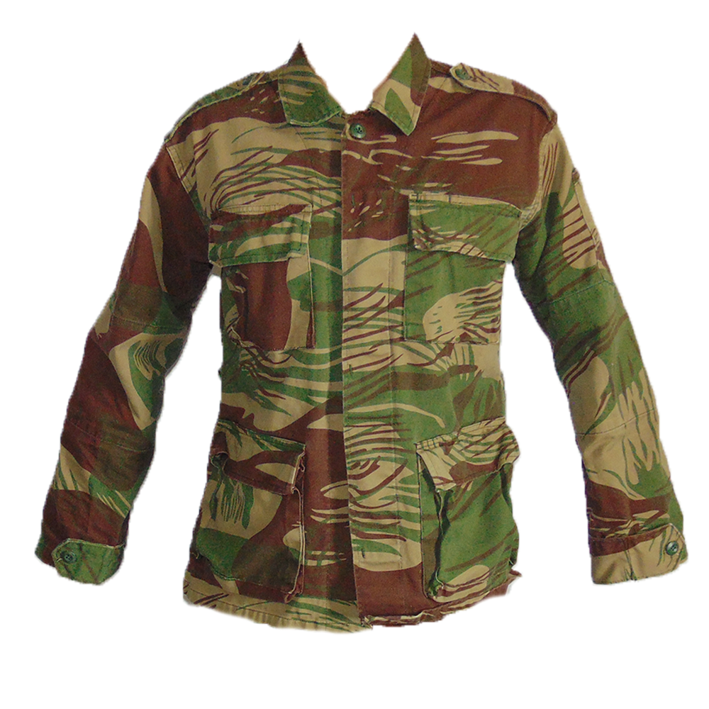 Rhodesian Army Brushstroke BDU Shirt