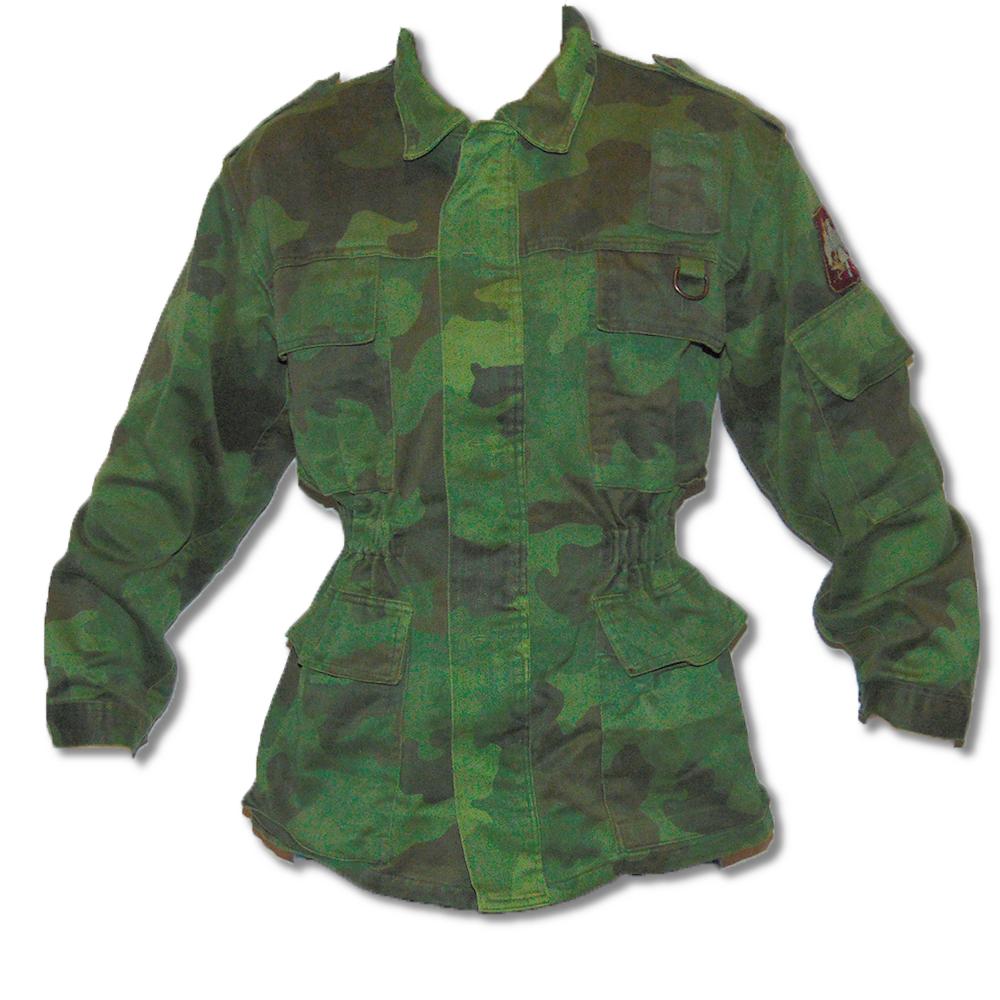 Yugoslavian Army Woodland Combat Shirt