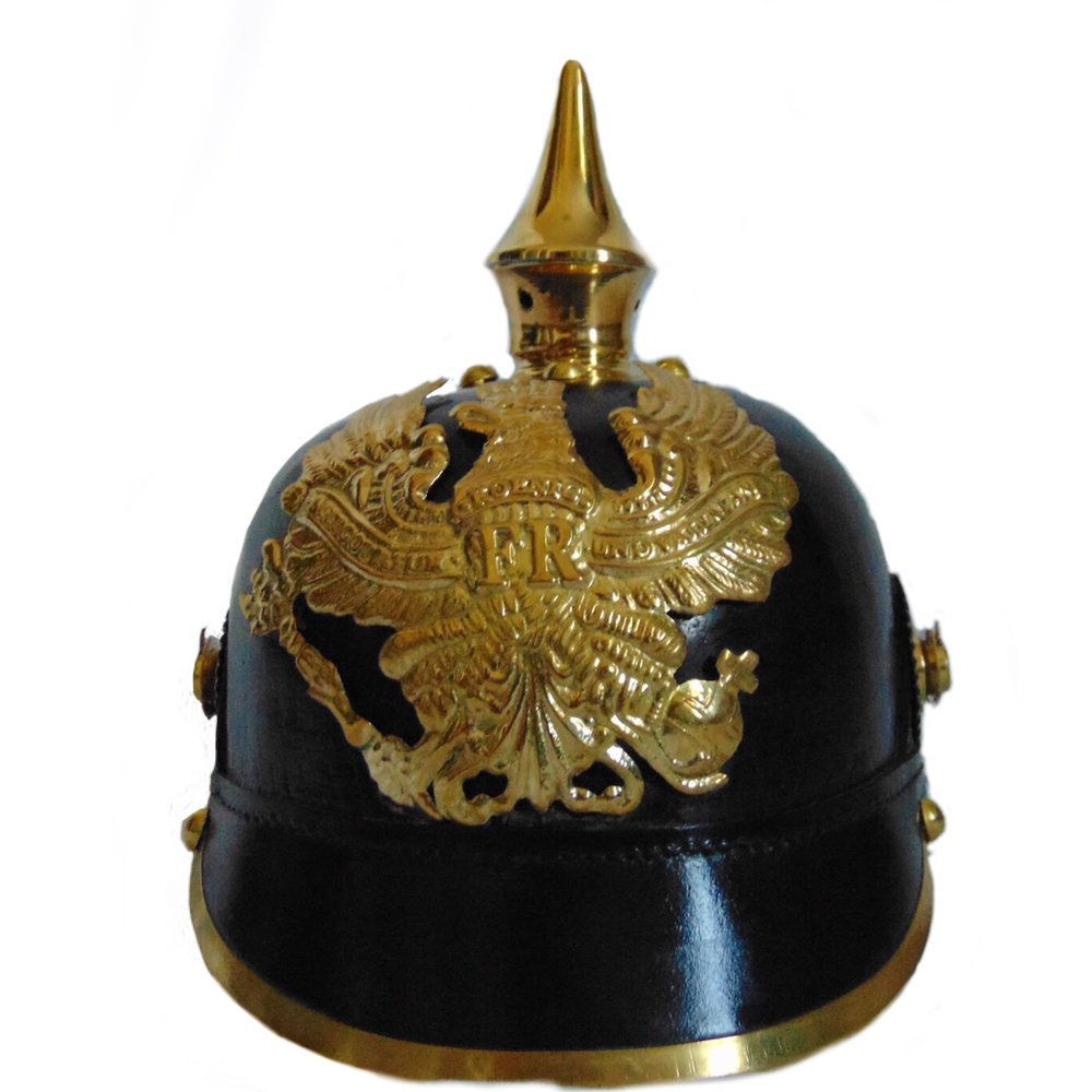 Imperial German Army Spiked Pickelhaube Officer Helmet