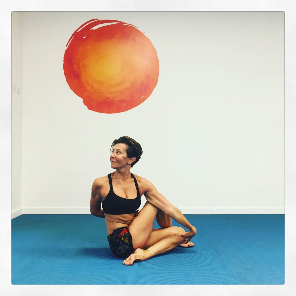 Spine Twisting Yoga Pose Trieste