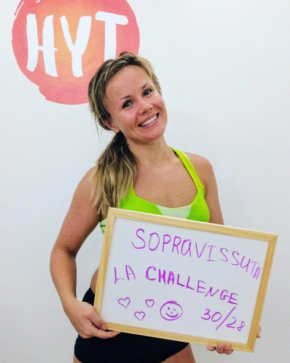 Oksana Bikram Yoga 30 days challenge