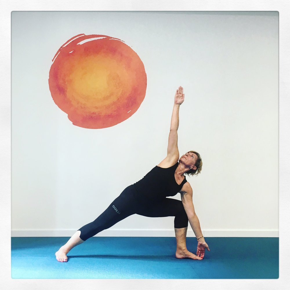 Trikanasana Trieste Yoga