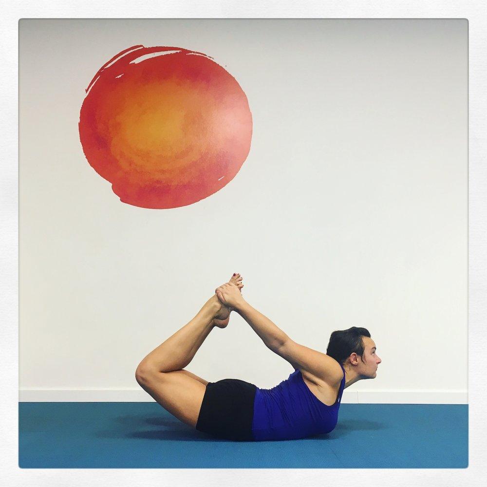 Dhanurasana Trieste Yoga