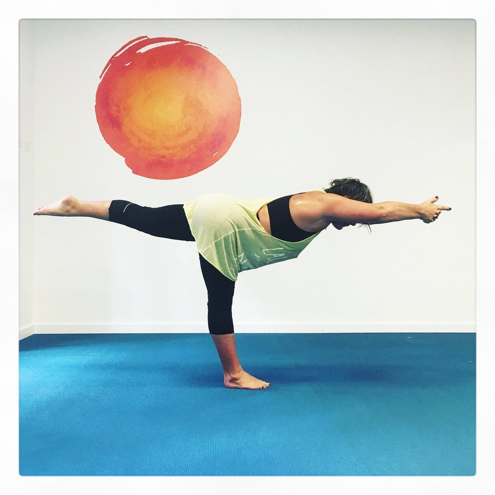 Balancing Stick Pose Bikram Yoga Trieste