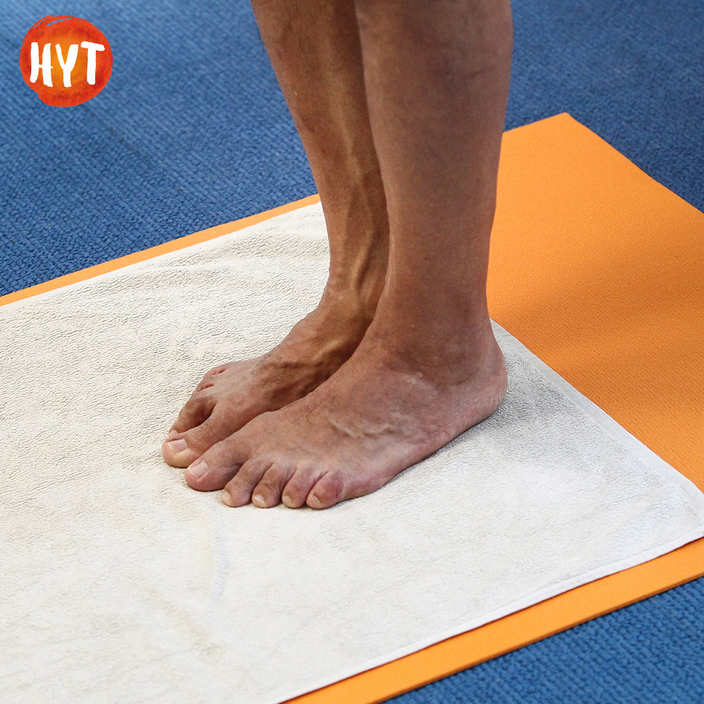 Yoga Pose Feet Together