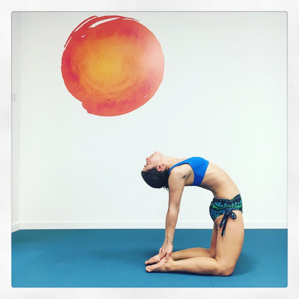 Ustrasana Hot Yoga Trieste