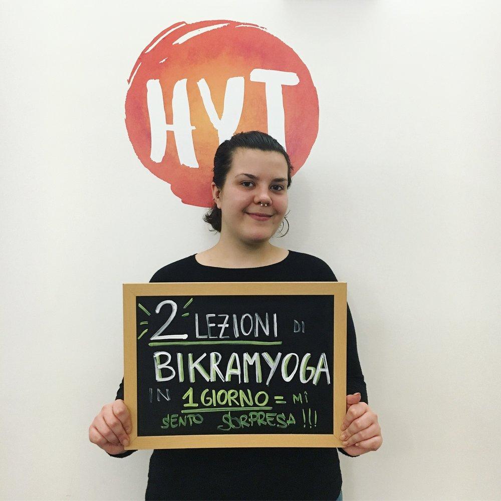 Bikram yoga double Trieste