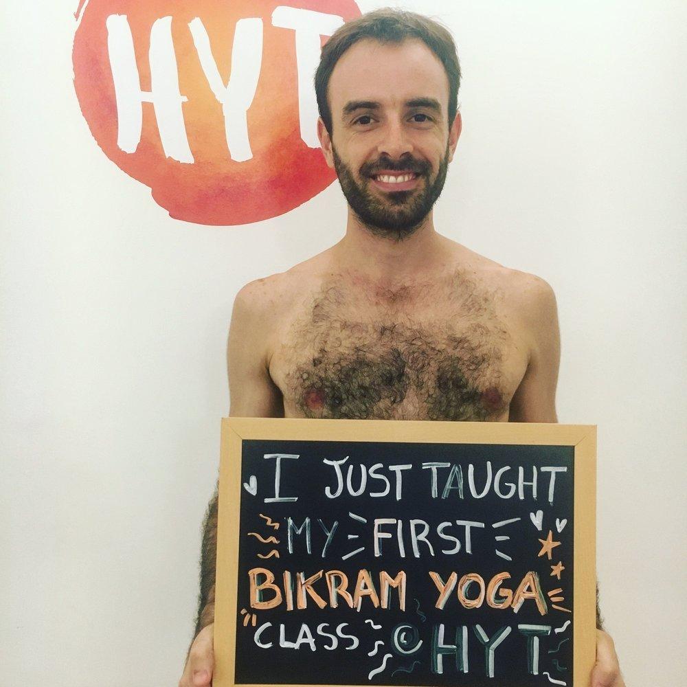 First class at HYT new teacher