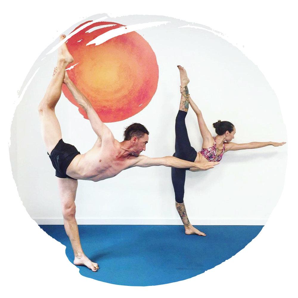 Marc & Roxanne Yoga Teachers