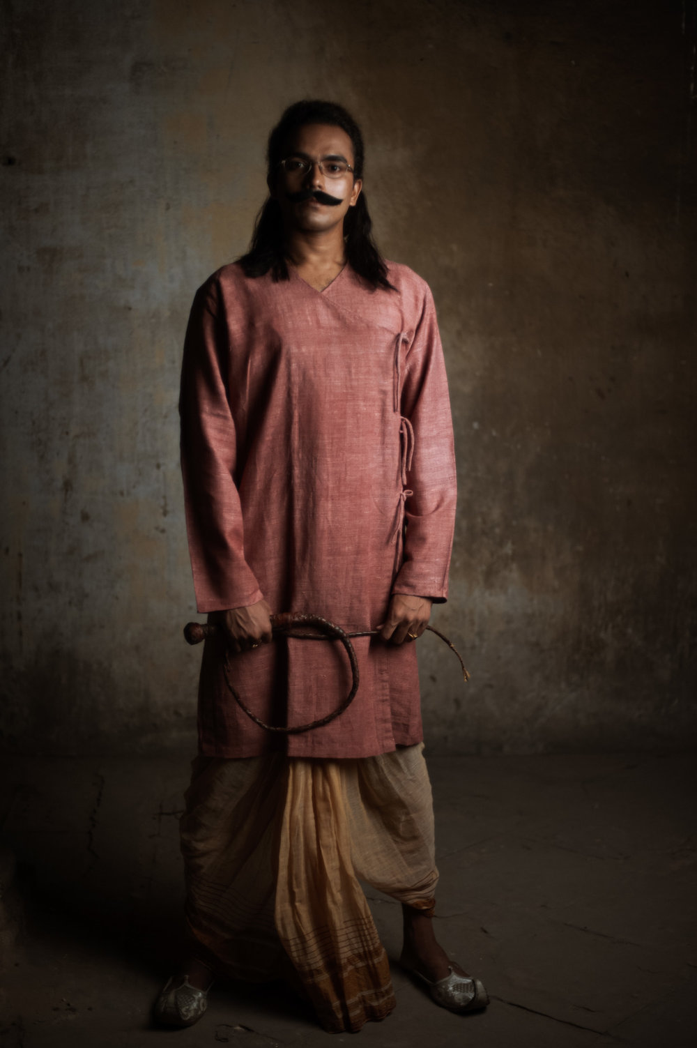12_Chhandak Pradhan-fashion-Ruins and a Requiem-vintage_feudal_Indian_royal_portrait.jpg