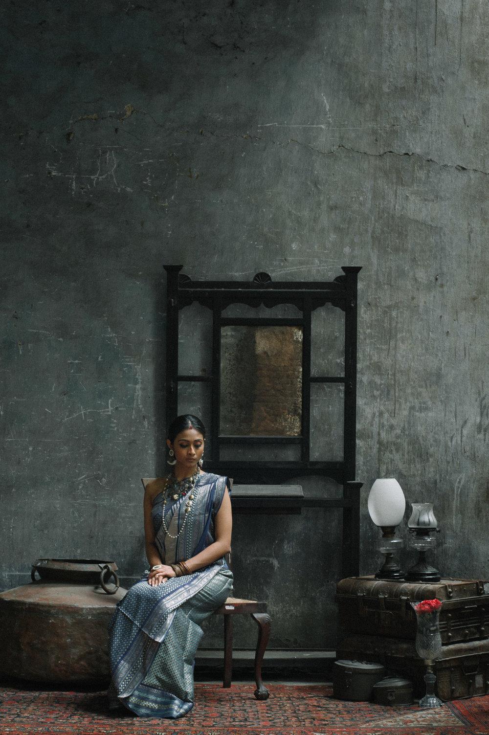 11_Chhandak Pradhan-fashion-Ruins and a Requiem-vintage_feudal_Indian_royal_portrait.jpg