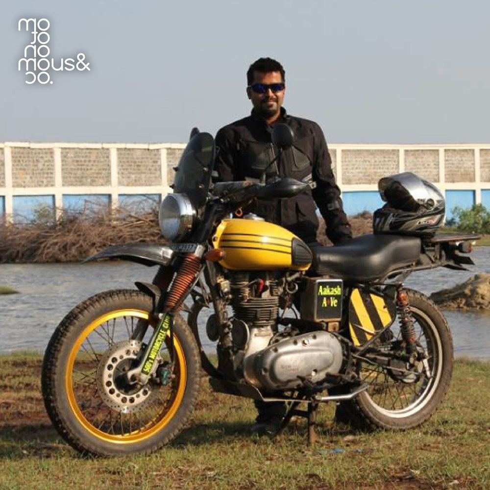 """Anesthesia"" of Aakash Ahuja from Royal Enfield"