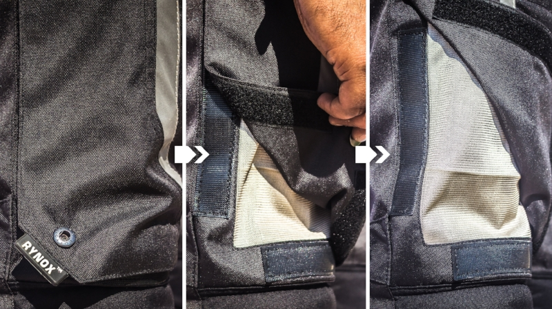 Motonomous Rynox Advento Pants Review - AeroFlip Ventilation Panels