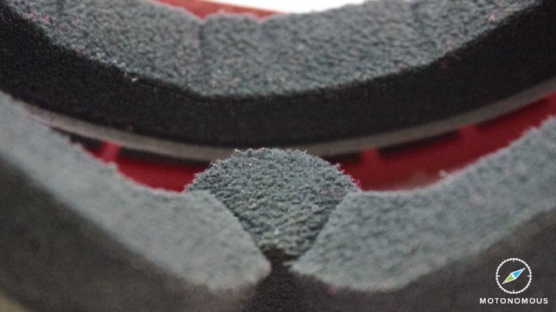 Motonomous Dragon Alliance MDX Moto Goggles - Micro Fleece Face Foam - 7