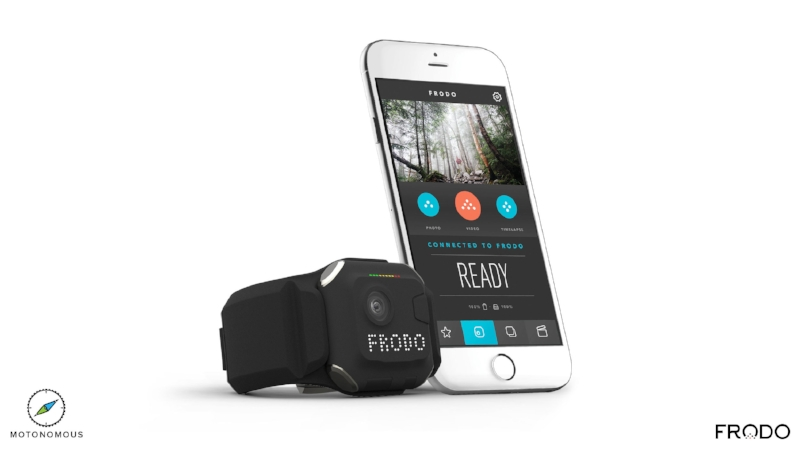 Motonomous Frodo Cam NexGear Indiegogo - Camera and iPhone Android App - 4