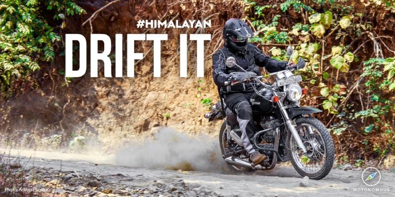 Motonomous Royal Enfield Himalayan Drift It