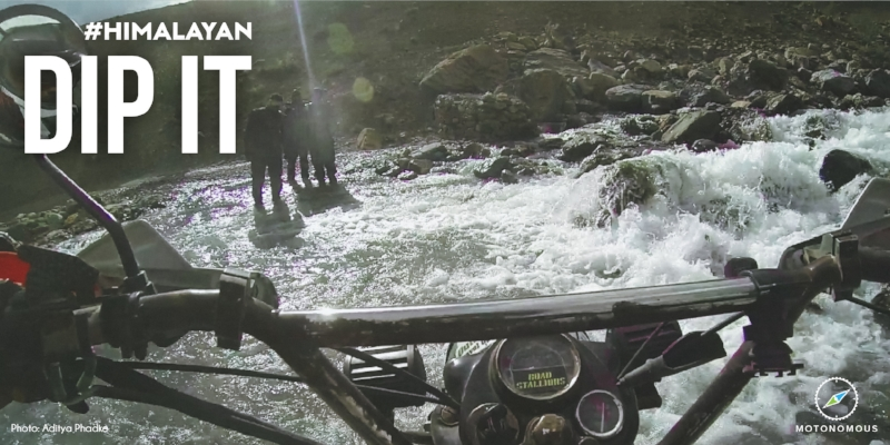 Motonomous Royal Enfield Himalayan Dip It