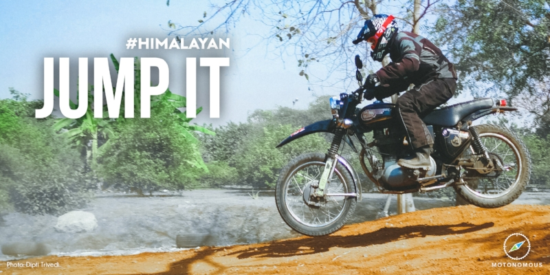 Motonomous Royal Enfield Himalayan Jump It