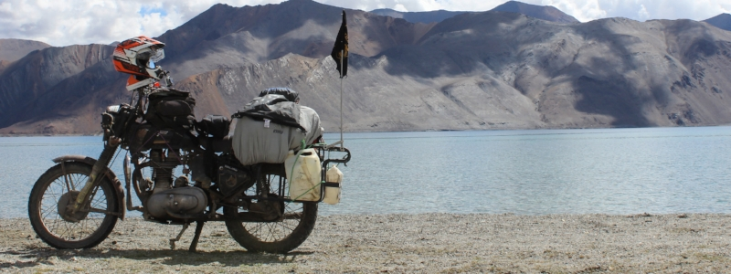 Motonomous Blog Dirtsack Gypsy Hybrid Tailbag Review Pangong Lake