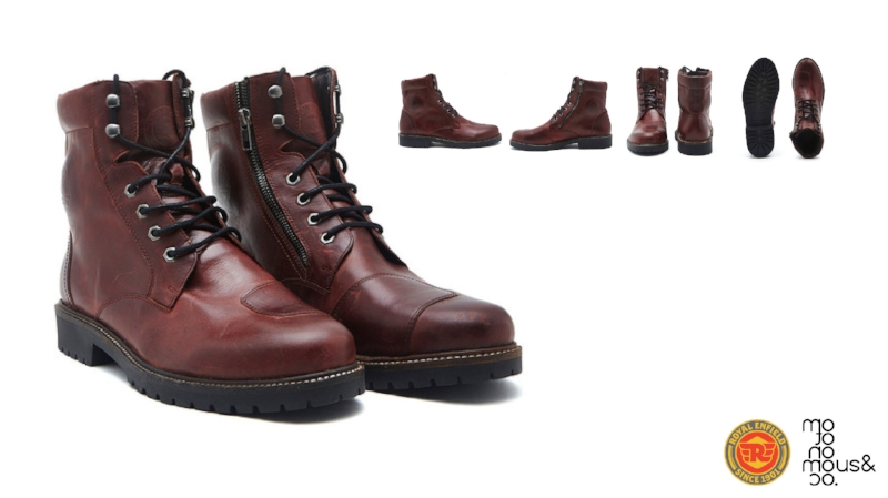 Motonomous Blog Royal Enfield HUSSAR OIL-PULL-LEATHER RIDING BOOTS-01