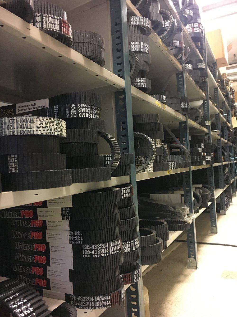 Variatorremmar på lager