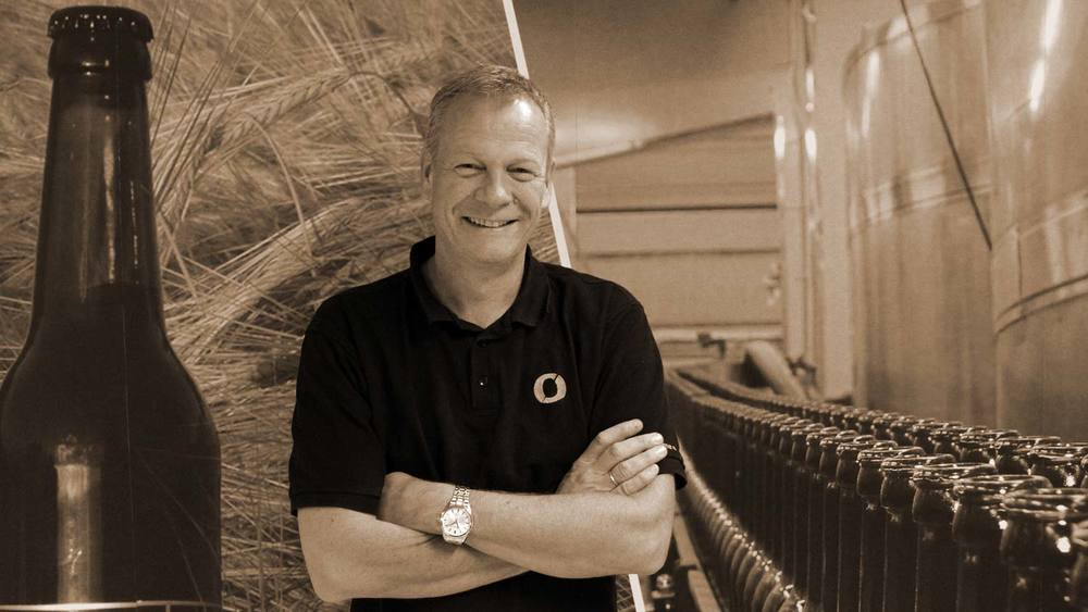 Tom Young er marknadssjef i Nøgne Ø.