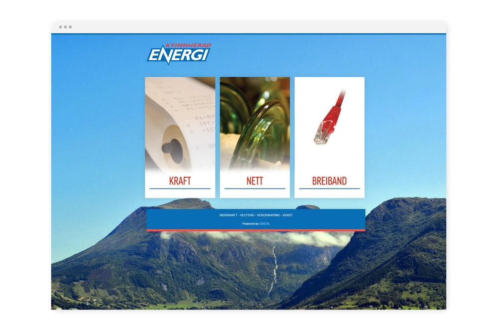 Energi er gøy! - Vi liker å jobbe med everk, og har god kompetanse på integrasjon mot Enoro/ Hansen Technologies Norway og andre leverandørar.Vi har m.a. utvikla nettsider for Kvinnherad Energi, Stranda Energi, Fusa Kraftlag, Midt-Telemark Energi.