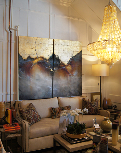 Tidal Glow 60x36 each DL Home & Garden, Rochester, NY. Available through Nan Miller Gallery 585-292-1430