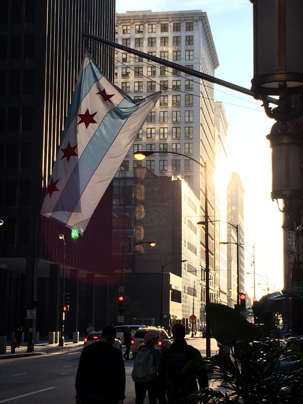 chicago flag.olenka