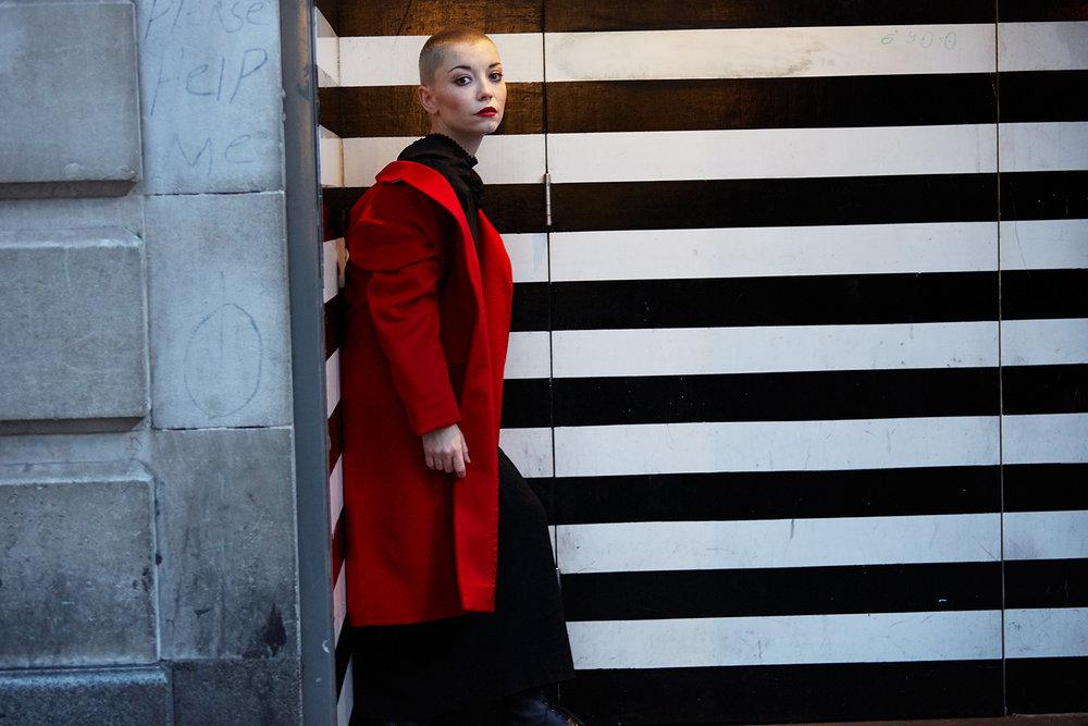 Marama Corlett | actress, London 2018