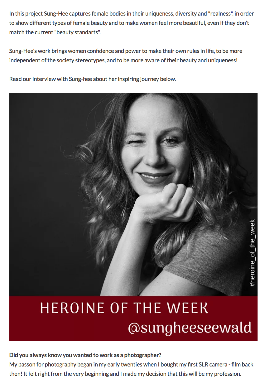 #HEROINE_OF_THE_WEEK@ICHSELBSTÄNDIG -