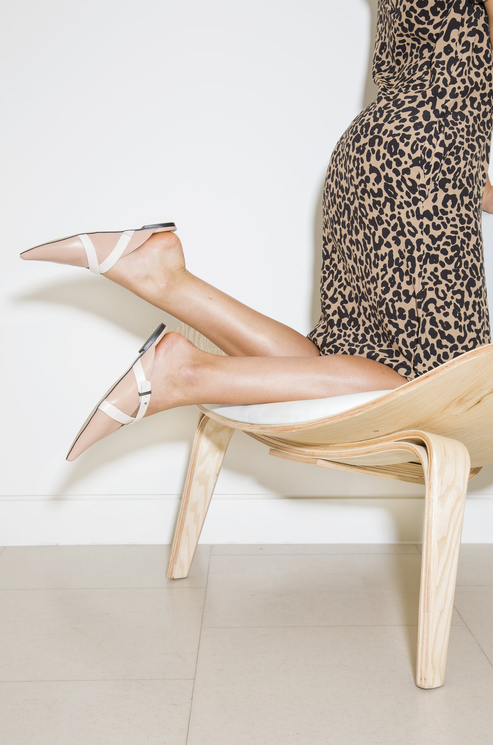 The City Flat - Wear with a leopard print dress