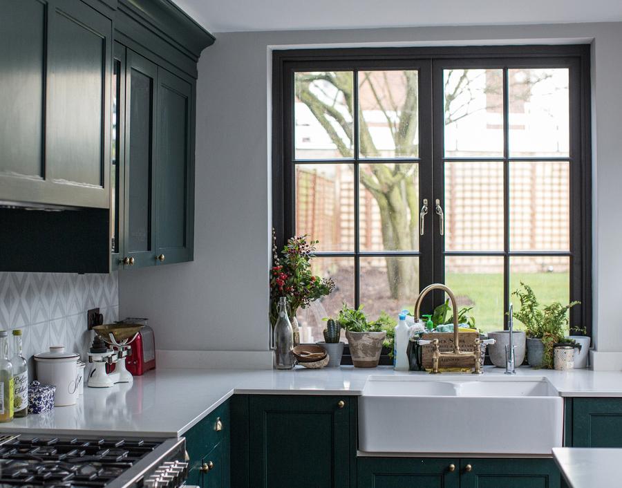 Kitchen window.Photo: Amy Smyth