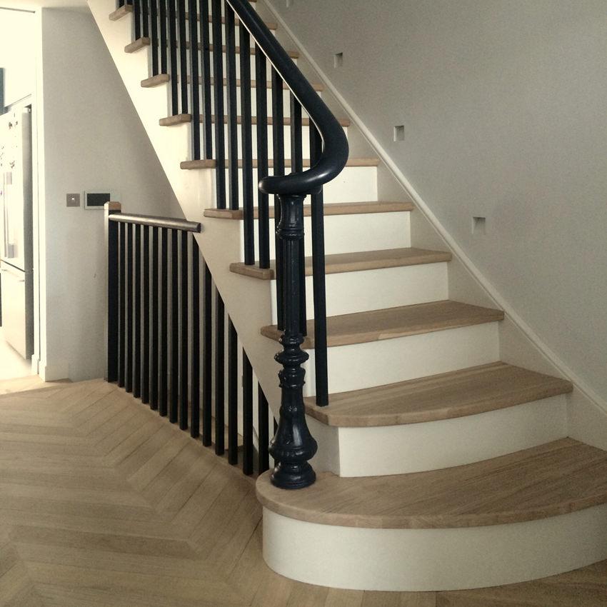 Stairs & floor