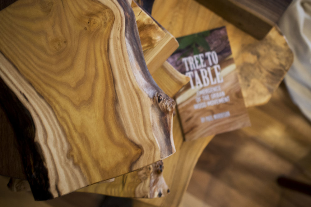 Tree to Table Book - Emergence of the Urban Wood Movement