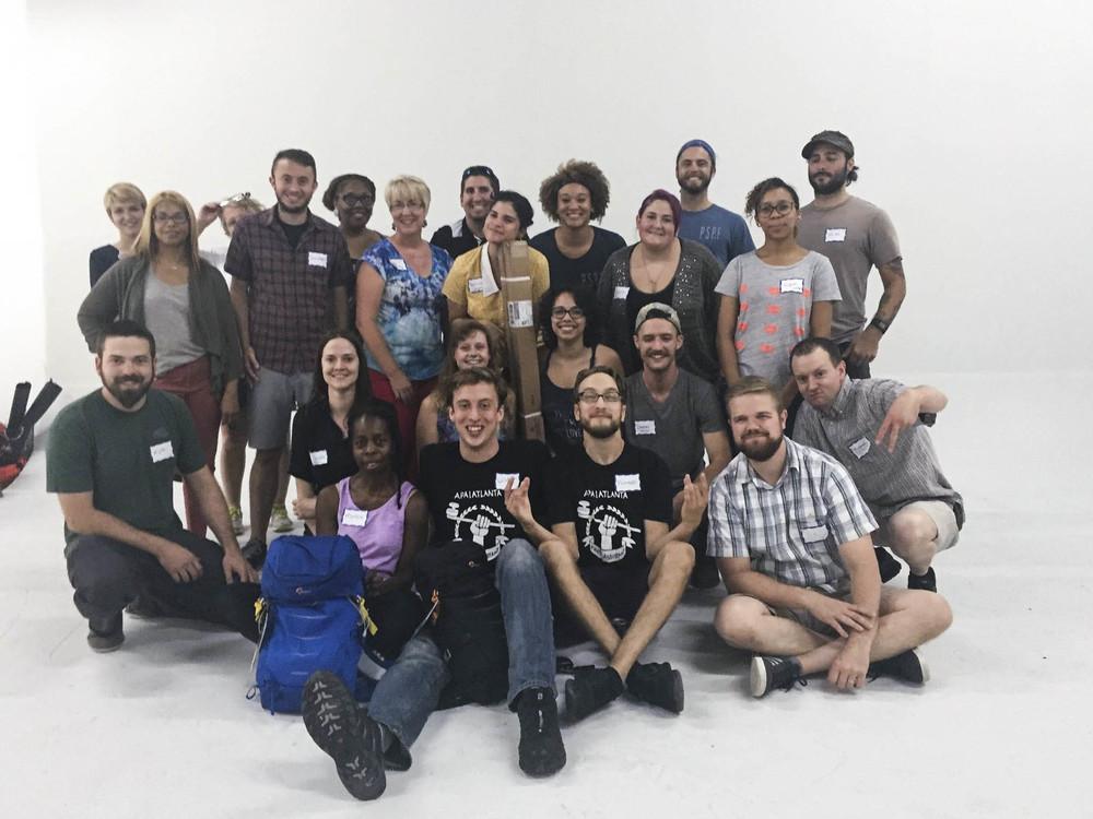 Group photo courtesy of APA Atlanta.