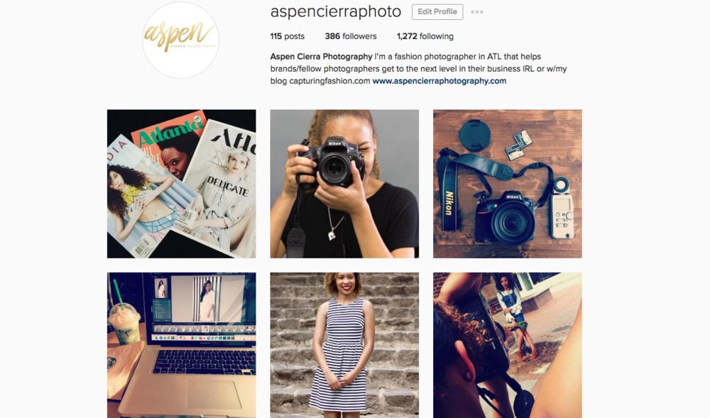 instagram.com/aspencierraphoto