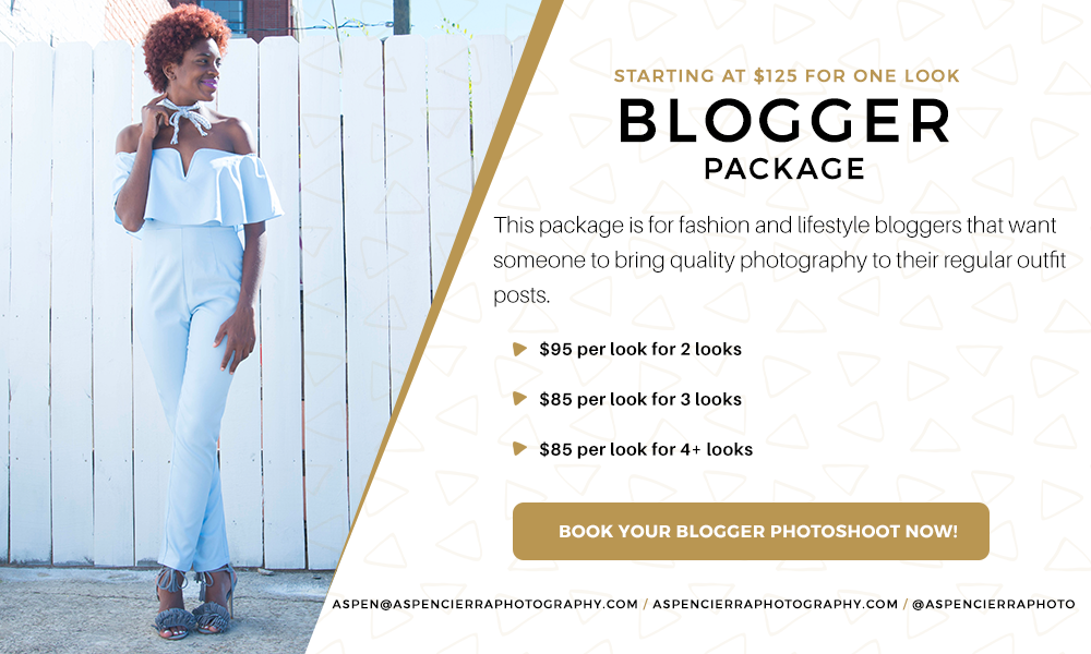 Aspen Cierra Photography Blogger Package