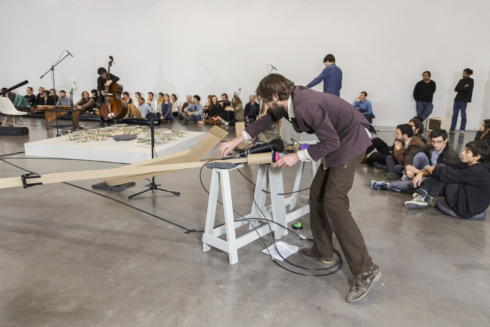 "BMW Tate Live 2016: Tarek Atoui, ""The Reverse Sessions"", Performance © Omar Luis Olguín, 2014 (04/2016)"