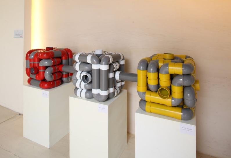 Cai Kun-Lin,Sound Cube, 2009