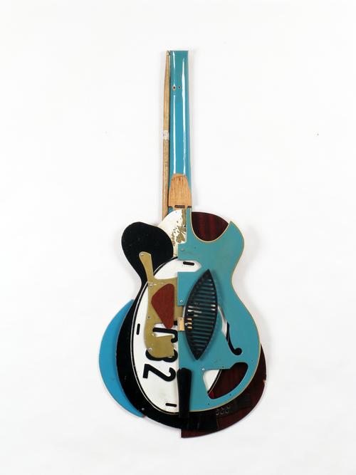 Ken Butler, Blue Cubist