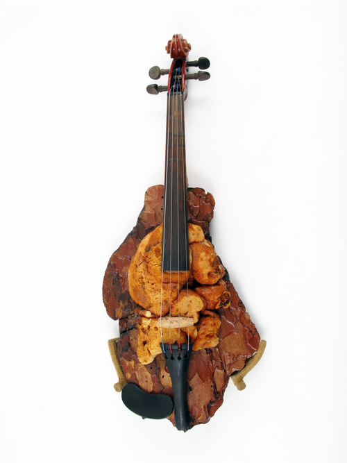 Ken Butler, Drift wood Foam Violin