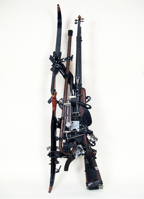Ken Butler, Rifle Cane Archery Combo