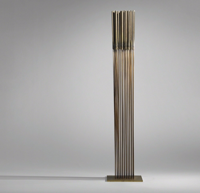 Untitled (Sonambient), circa 1972 Beryllium copper, monel and brass Estimated value: $30,000–$50,000