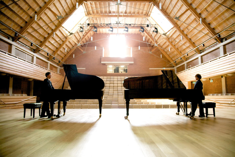 Oliver Beer, Composition for two Pianos and an Empty Concert Hall Galerie Thaddaeus Ropac  Video/Film