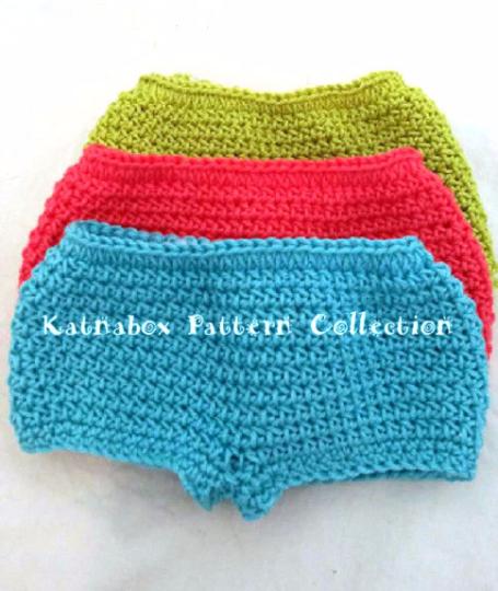 Crochet 18 Inch Doll Simple Panties Pattern Kc0245 Beginner Skill