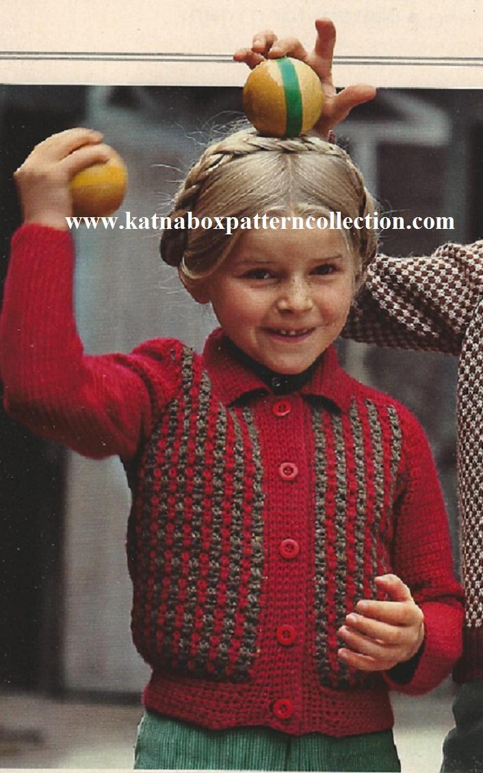 Vintage Crochet and Knit Patterns - Katnabox Pattern Collection