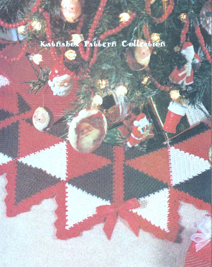 Crochet Stars Tree Skirt Pattern Kc1328 Intermediate Skill Level
