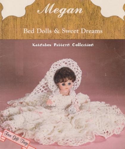 Crochet Bed Dolls Sweet Dreams Megan Pattern Kc1233