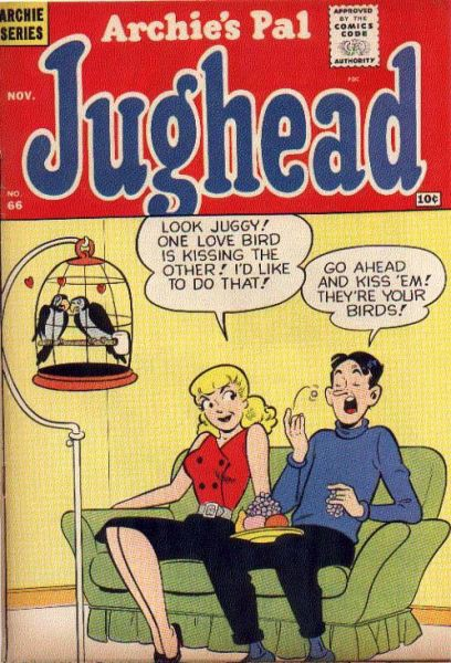 Archie's Pal Jughead, No 66, November 1960.